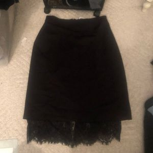 NWT Forever 21 lace skirt